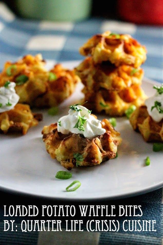 Loaded Potato Bites