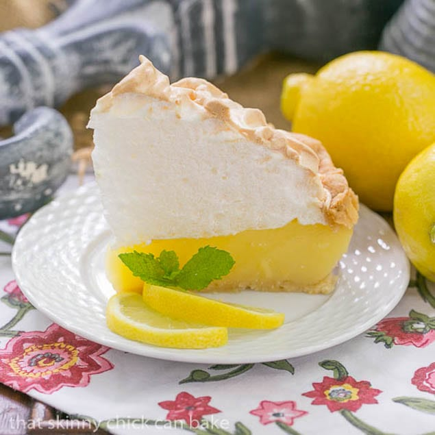 Sky High Lemon Meringue Pie