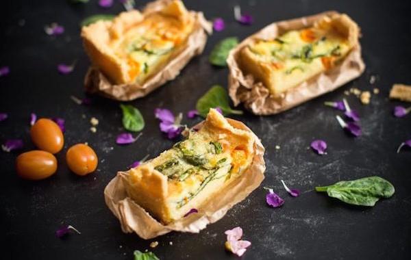 tomato pie quiche VÄSTERBOTTENSOST