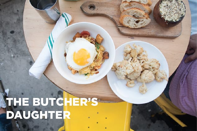 NYC Cafés — The Butcher's Daughter