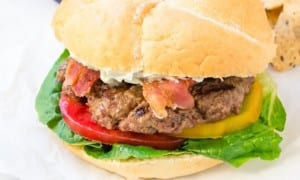 blt-burger-with-whipped-blue-cheese2  flavorthemoments.com
