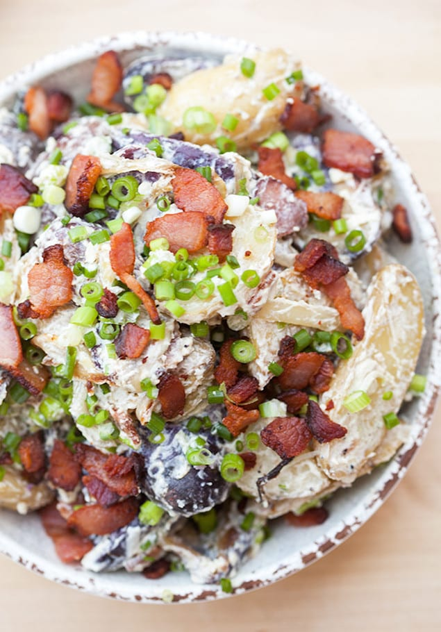 Castello Summer of Blue — Bacon and Blue Cheese Roasted Potato Salad