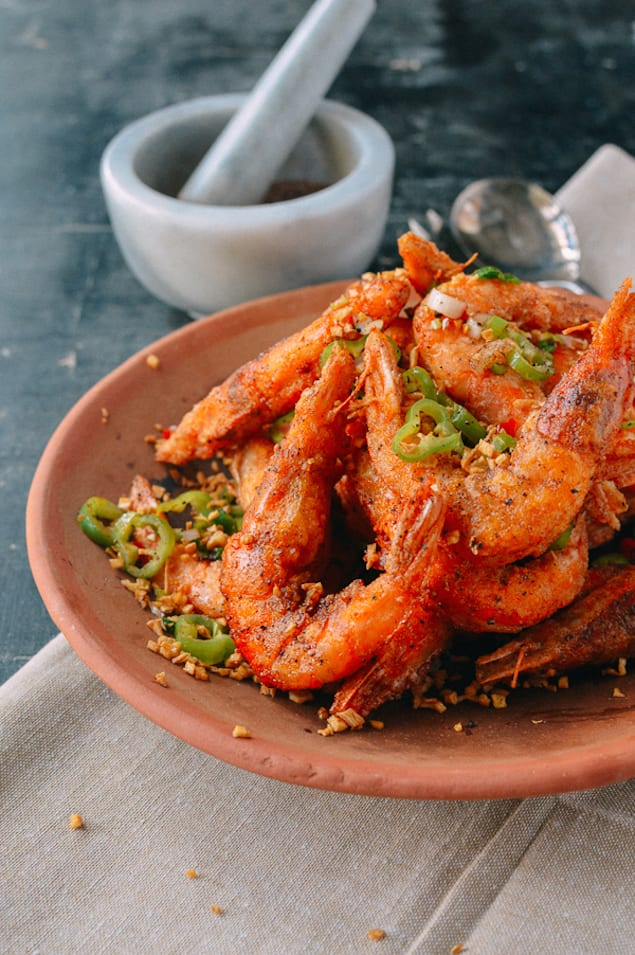Crispy Salt and Pepper Shrimp – Honest Cooking