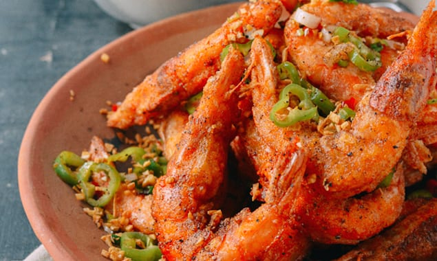 Spicy Salt-and-Pepper Shrimp Recipes — Dishmaps