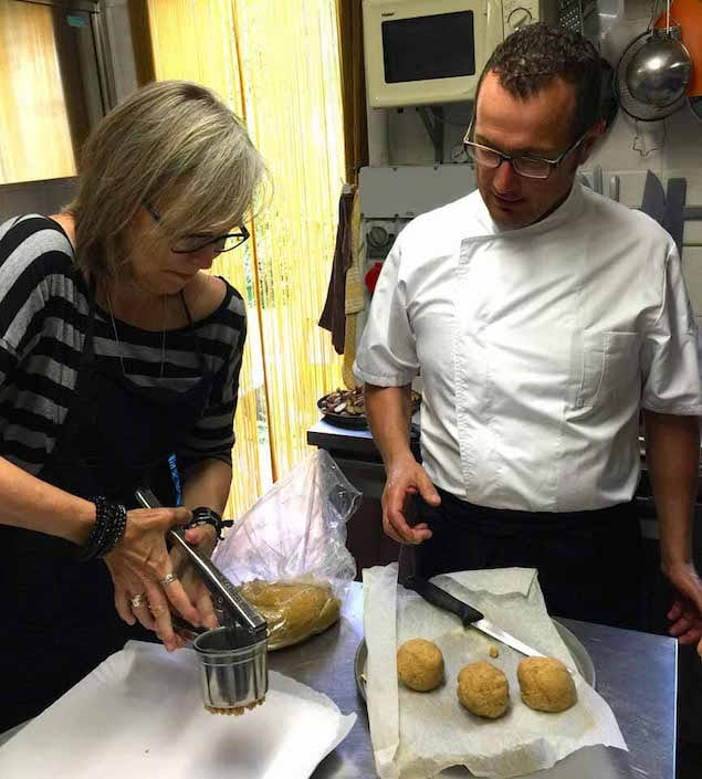 Cooking Honest Food with Chef Gilberto Guidi in Italy