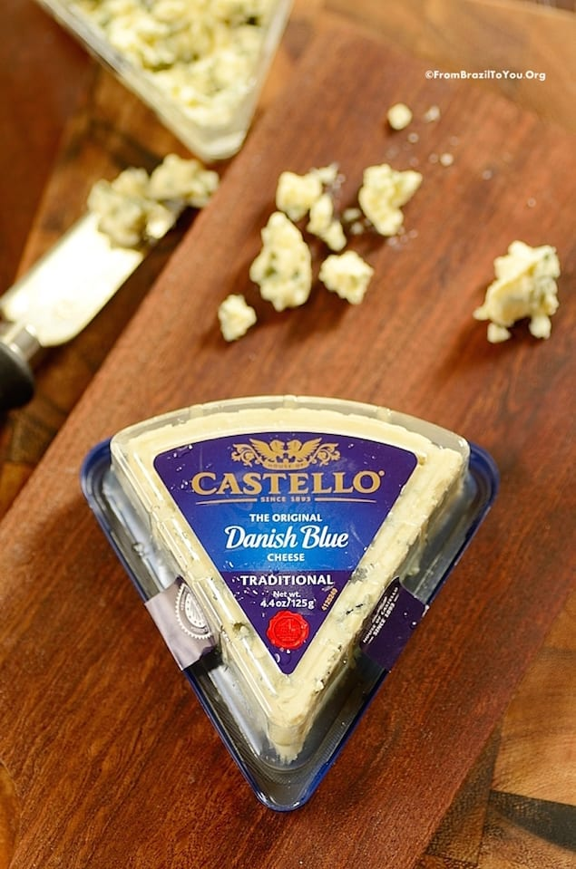 Castello Summer of Blue — Grilled Vegetable and Blue Cheese Pizza