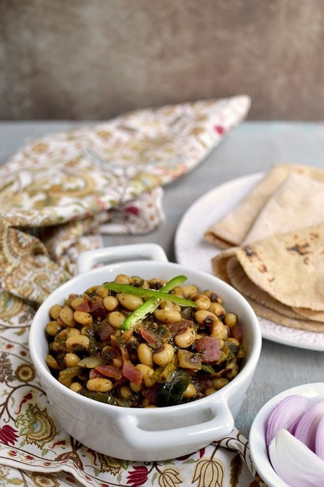 black eyed peas curry print a vegetarian black eyed pea dish made with ...