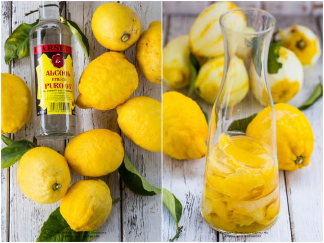 Homemade Limoncello – Honest Cooking