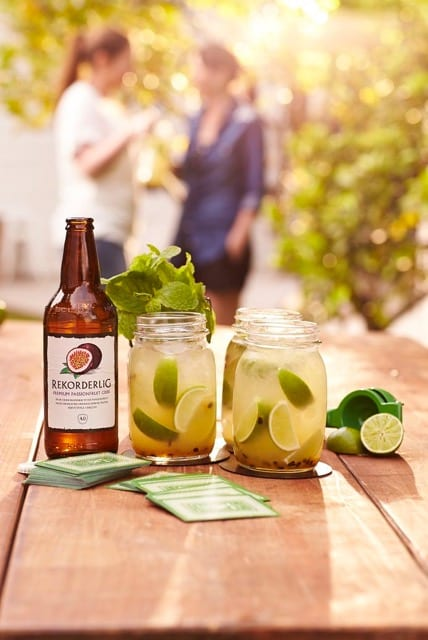 A Taste of Swedish Waters: Rekorderlig Passionfruit Mojito