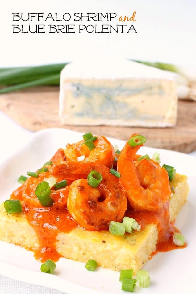 Castello Summer of Blue — Spicy Shrimp and Blue Brie Polenta
