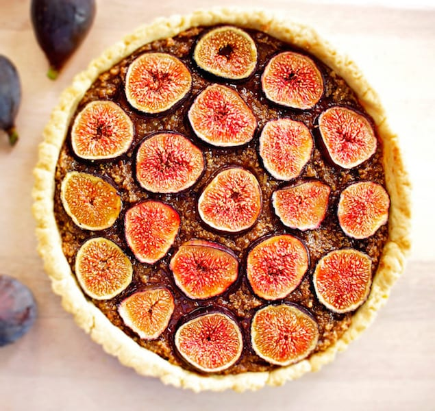 Fig and Pecan Tart
