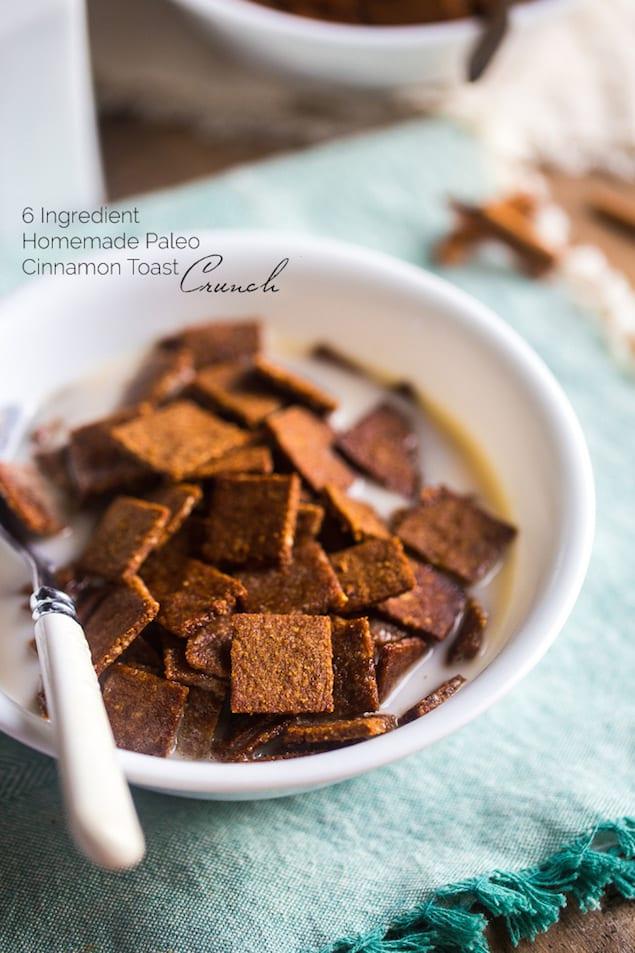 Homemade Cinnamon Toast Crunch Cereal