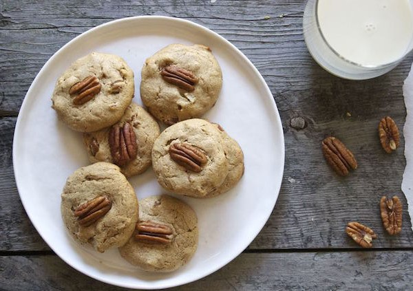 Soft Maple Pecan Cookies