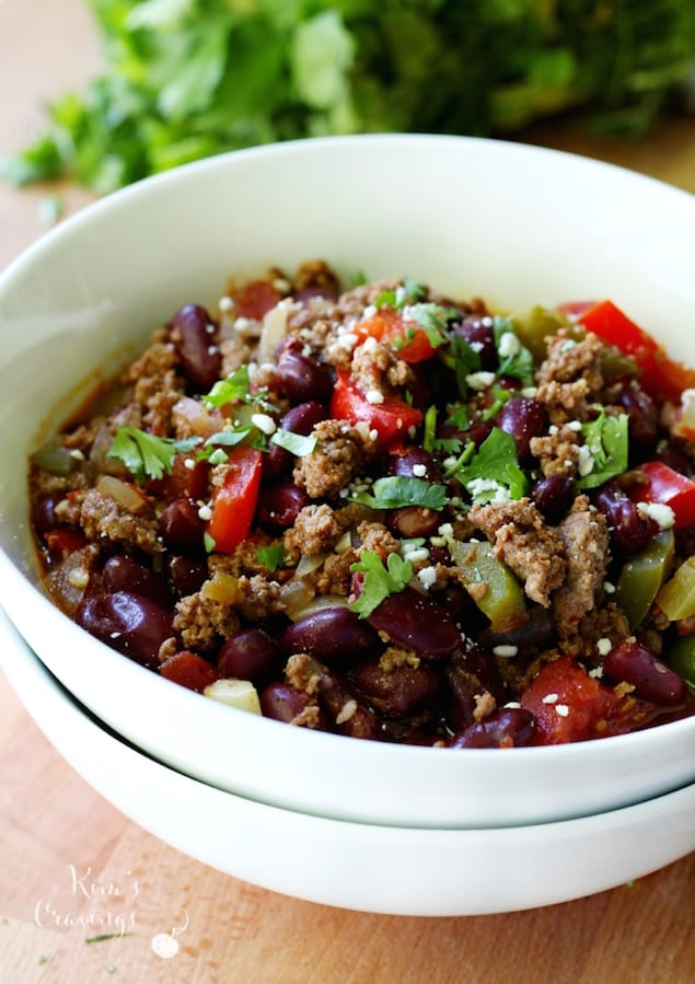 Hearty Bison Chili