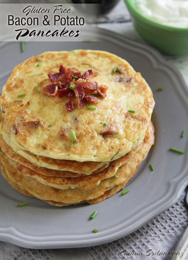 reviews savory bacon and potato pancakes print made with potatoes ...