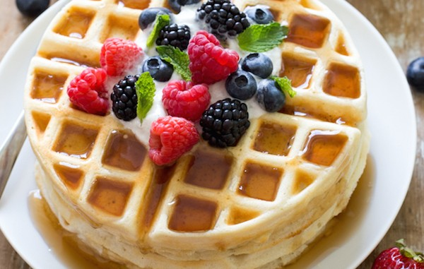 Easy-Greek-Yogurt-Waffles-Recipe