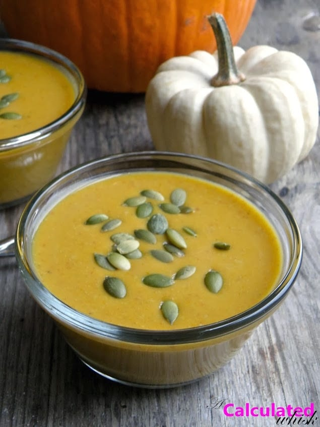 curried pumpkin soup 2