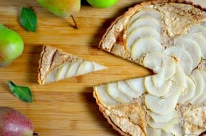 Elegant Pear and Almond Tart