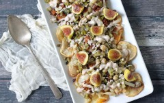 Garnacha Day — Spanish Nachos with Figs and Iberico Cheese