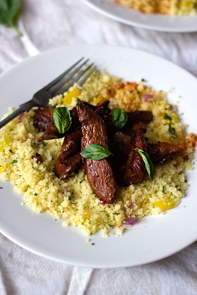 Soy and Honey Chicken with Couscous