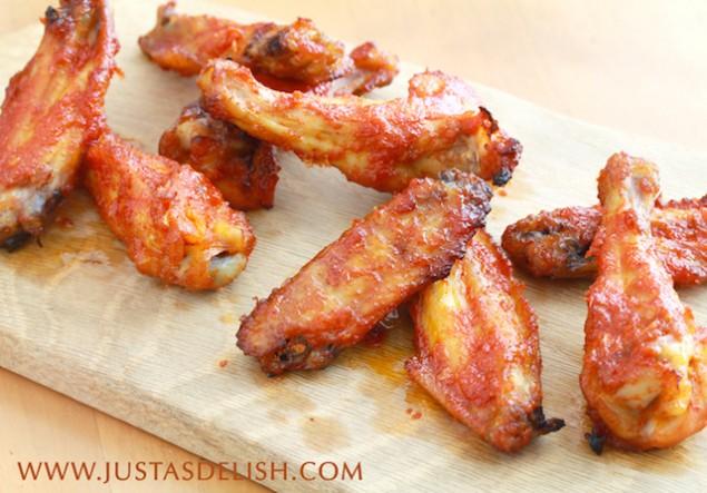Baked Korean Chilli Wings