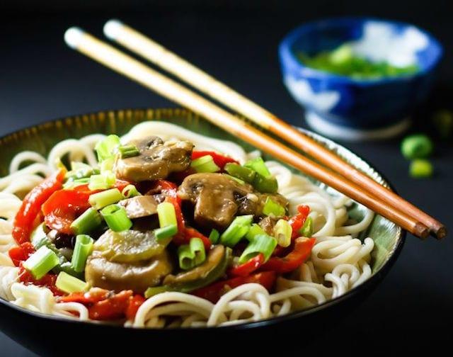 Flavorful Mushroom Stir Fry