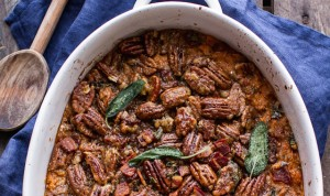 Bourbon-Sweet-Potato-Casserole-with-Sweet-n-Savory-Bacon-Pecans-4