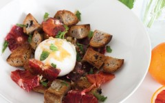 Winter Blood Orange and Burrata Salad