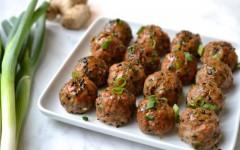 Ginger Sesame Meatballs