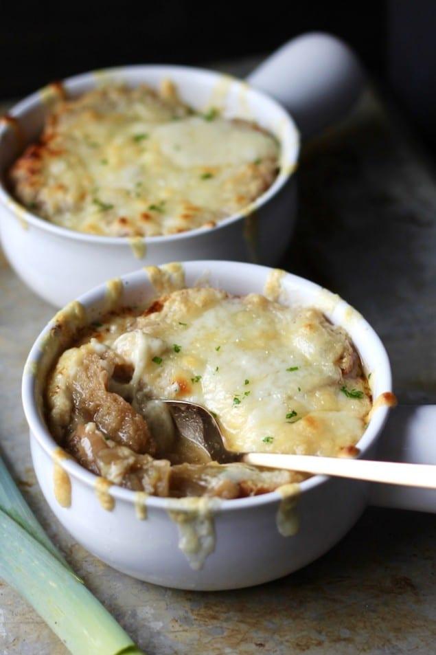 Triple French Onion Soup