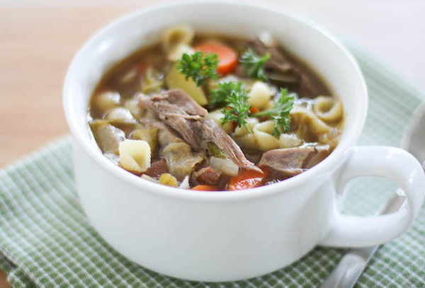 Hearty Turkey Minestrone Soup