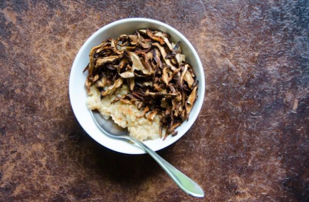 Savory Shiitake Oatmeal