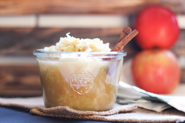 Spiced Apple and Cabbage Sauerkraut