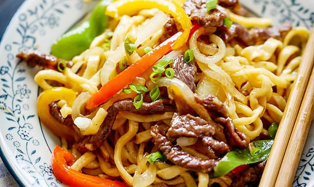 Homemade Beef Chow Mein Honest Cooking