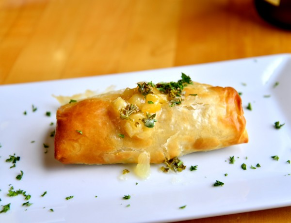 dungeness crab strudel