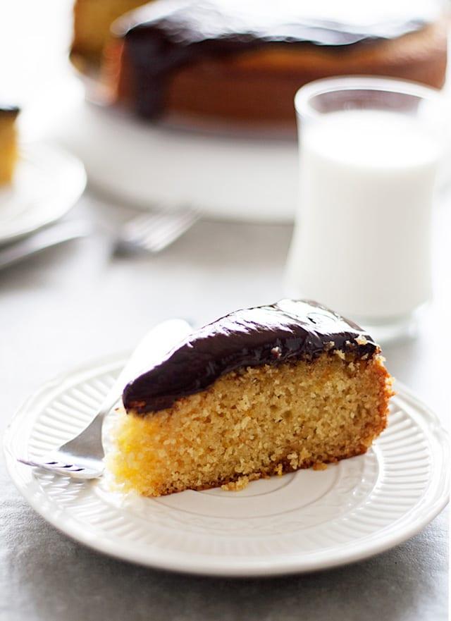 Orange Olive Oil Polenta Cake Recipe