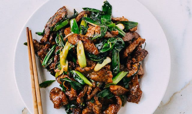 Beef and Scallion Stir Fry