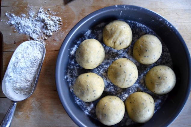 Sage and Cider Bread Rolls