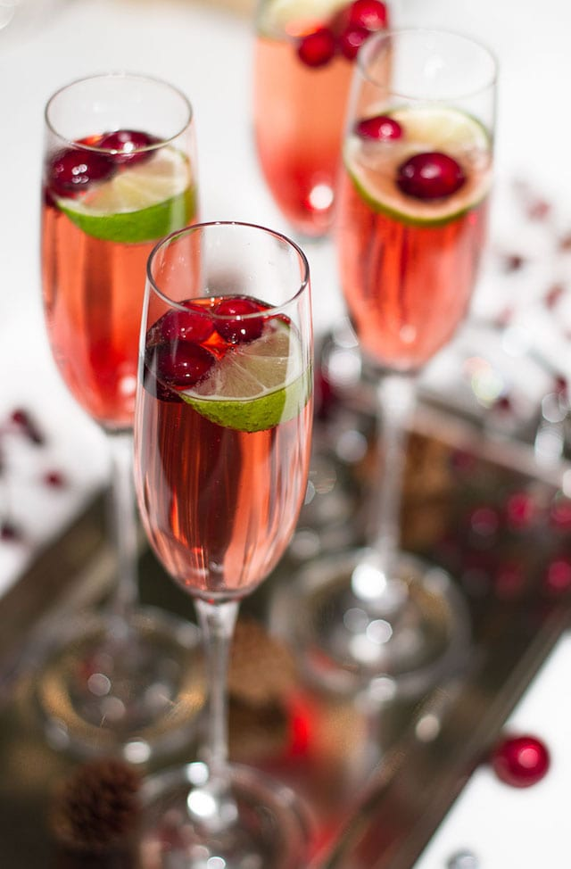 Elegant cocktails with spritz honest cooking for Cranberry bitters cocktail recipe