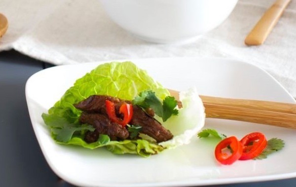 Korean Bulgogi Lettuce Wraps2