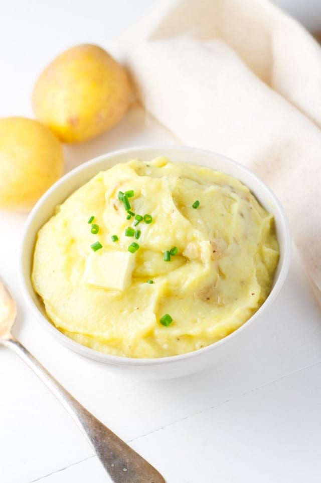 Miso and Roasted Garlic Mashed Potatoes