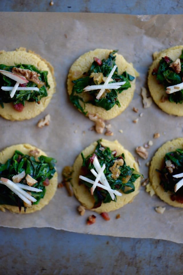 What is socca? It's a chickpea flour flatbread, and these little ...