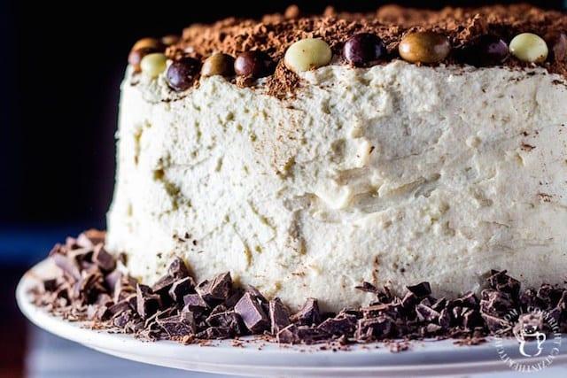 Tiramisu Cake with Chocolate Covered Espresso Beans3