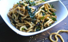 fork-bowl-pan-fried-noodles-garlic-rapini