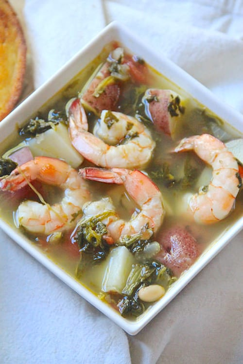 Shrimp and Red Potato Soup