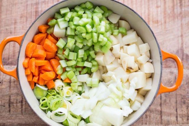 Rich Potato Leek Soup