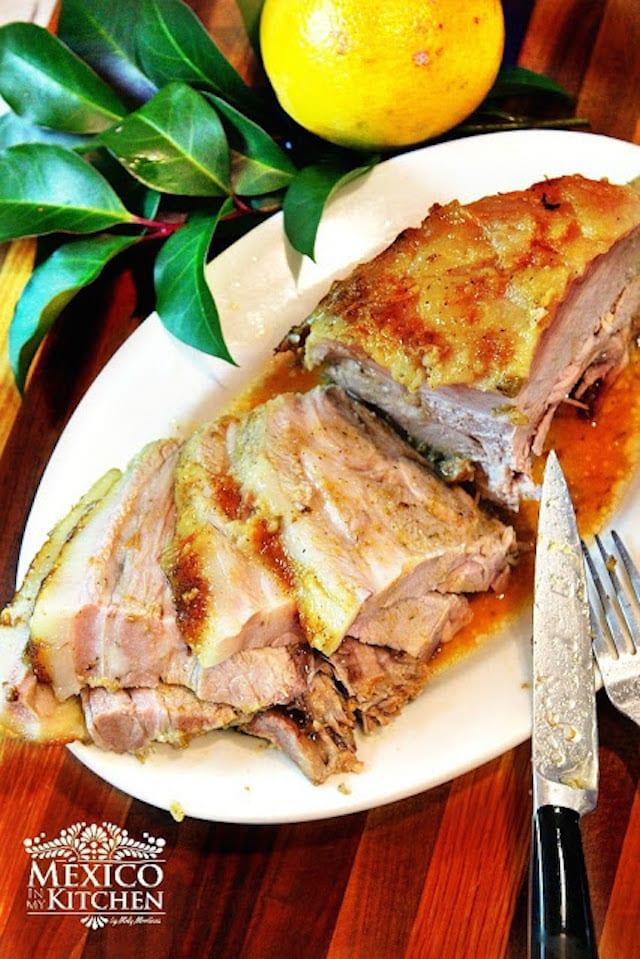 Easy Roasted Pork Leg