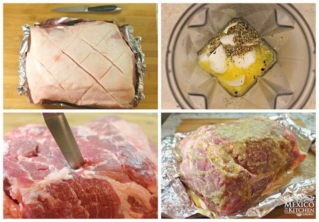 Easy Roasted Pork Leg3