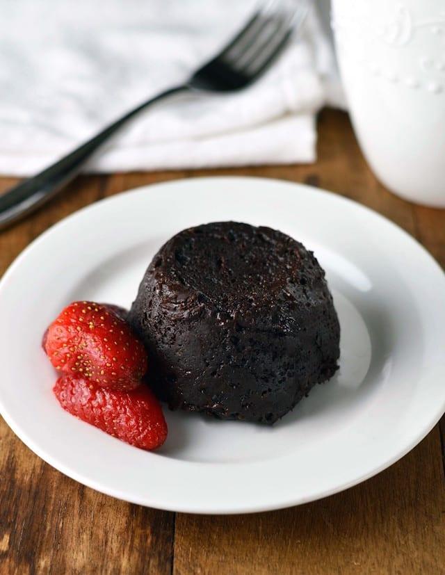 Gooey Molten Chocolate Cake