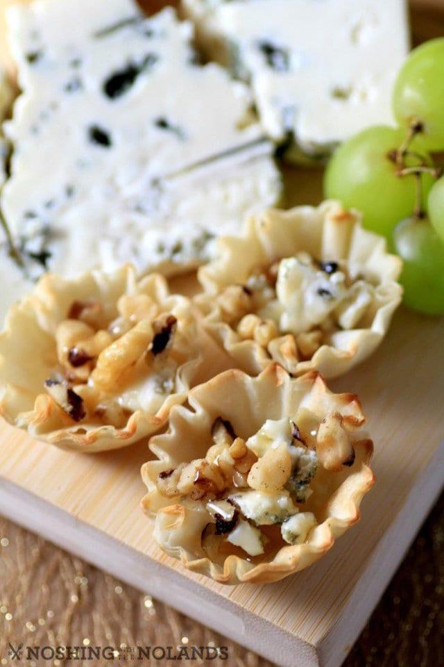 Cheese Board with Gorgonzola Honey Bites